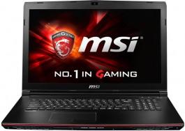 MSI Laptop GP72 2QE-059NL_Front
